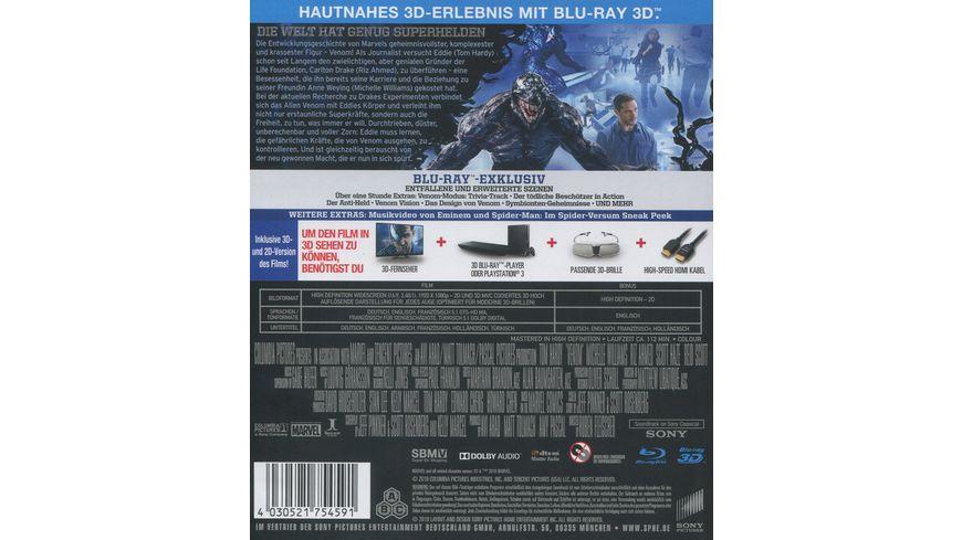 Venom Blu ray 2D