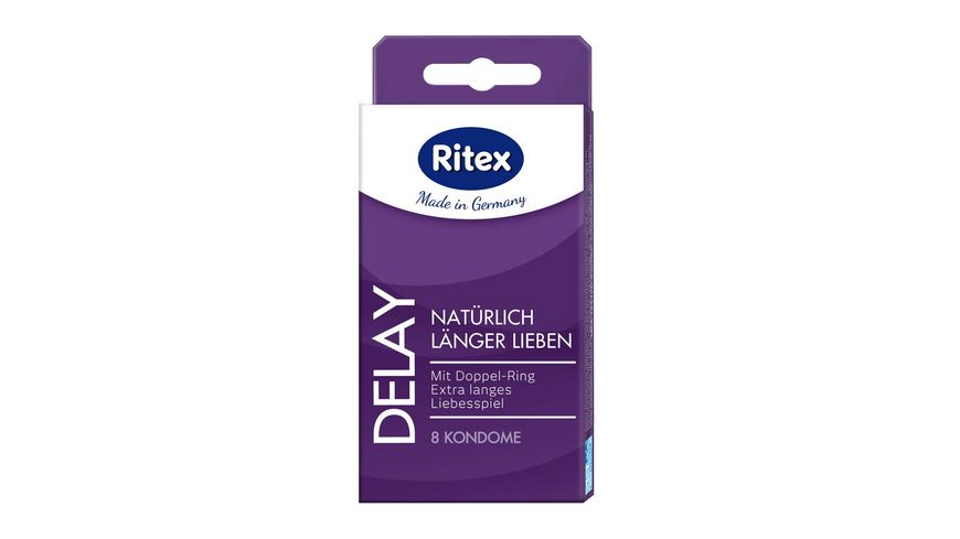 Ritex Kondome Delay 8 Stueck