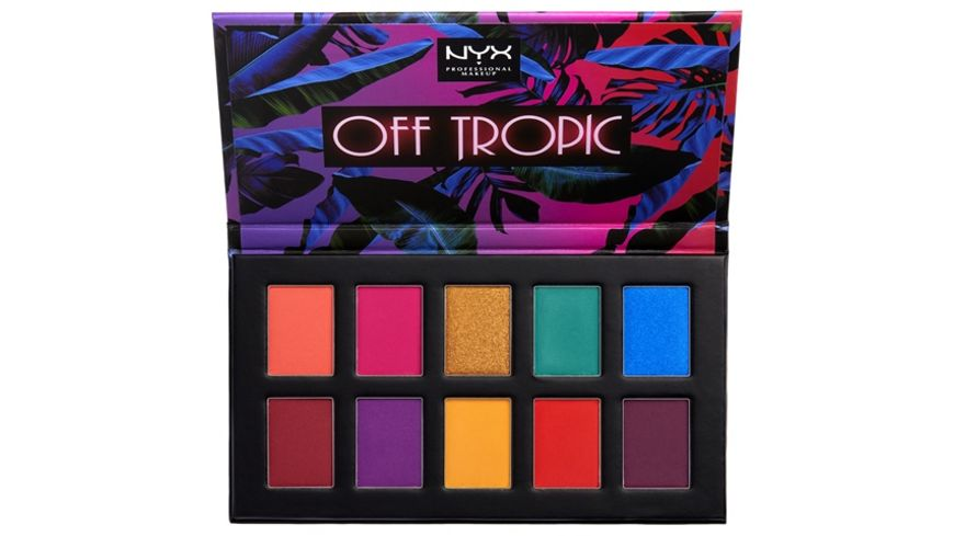NYX PROFESSIONAL MAKEUP Lidschatten Off Tropic Shadow Palette