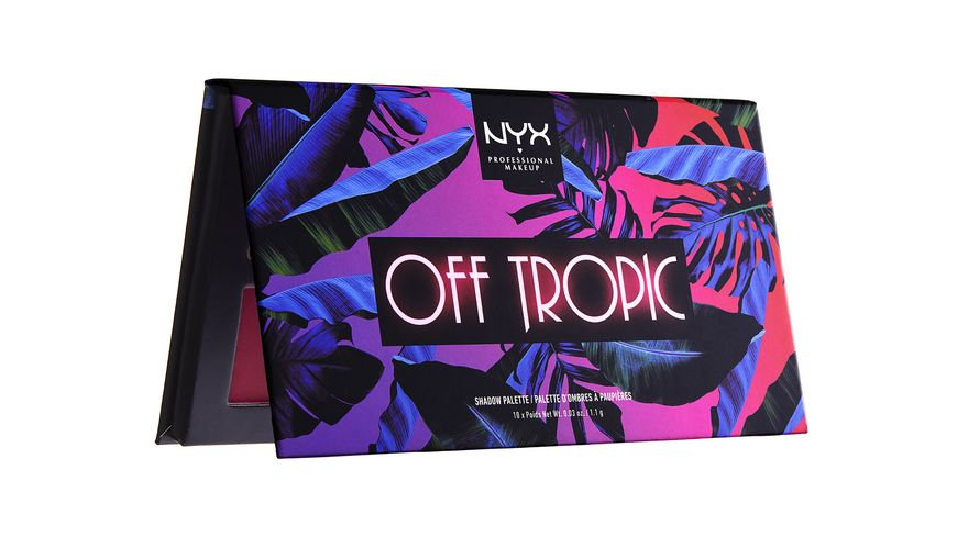 NYX PROFESSIONAL MAKEUP Lidschatten Off Tropic Shadow Palette