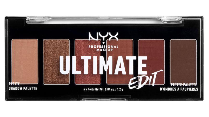 NYX PROFESSIONAL MAKEUP Lidschatten Ultimate Shadow Palette Mini