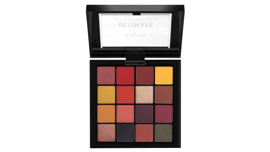 NYX PROFESSIONAL MAKEUP Lidschatten Ultimate Shadow Palette