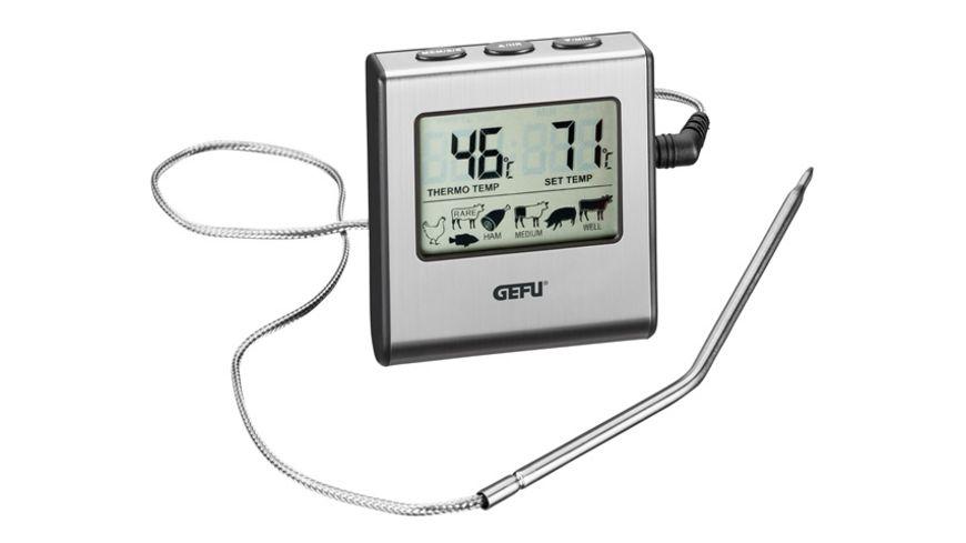 GEFU Digitales Bratenthermometer mit Timer TEMPERE