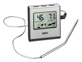 GEFU Digitales Bratenthermometer mit Timer TEMPERE