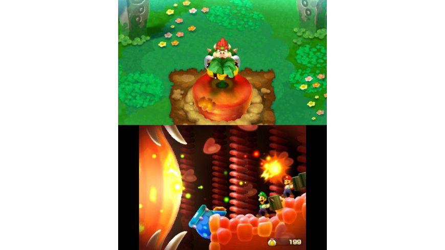 Mario Luigi Abenteuer Bowser Bowser Jr