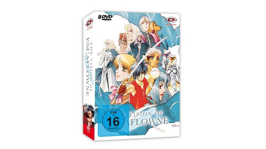 The Vision of Escaflowne Die komplette Serie Collector s Edition 8 DVDs