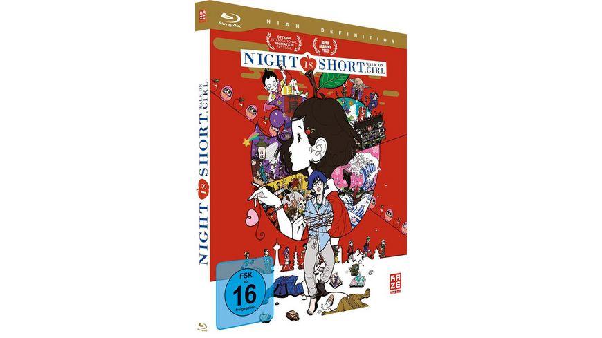 Night Is Short Walk On Girl Blu ray