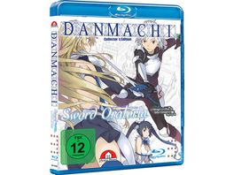 DanMachi Sword Oratoria Blu ray 3 Limited Collector s Edition
