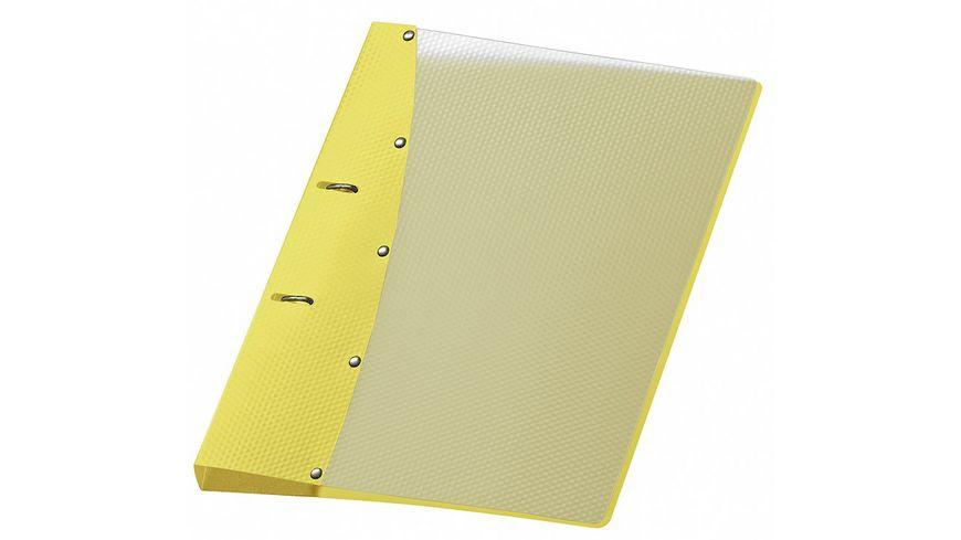 VELOFLEX Ringordner Diamond A4 gelb