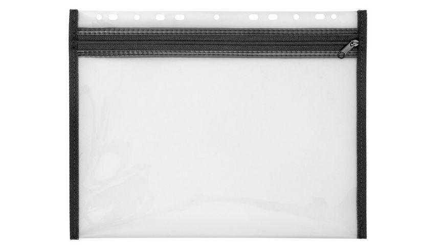 VELOBAG Utensilientasche mit Reissverschluss A4 schwarz