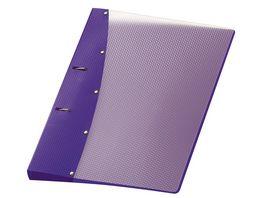 VELOFLEX Ringordner Diamond A4 violett