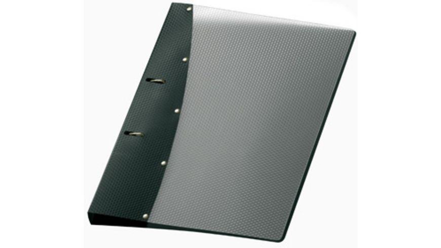VELOFLEX Ringordner Diamond A4 schwarz