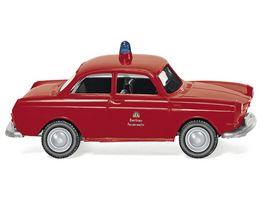 Wiking 0861 45 Feuerwehr VW 1600 Limousine 1 87