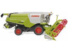 WIKING 038914 Claas Lexion 760 Maehdrescher mit V 1050 Getreidevorsatz 1 87