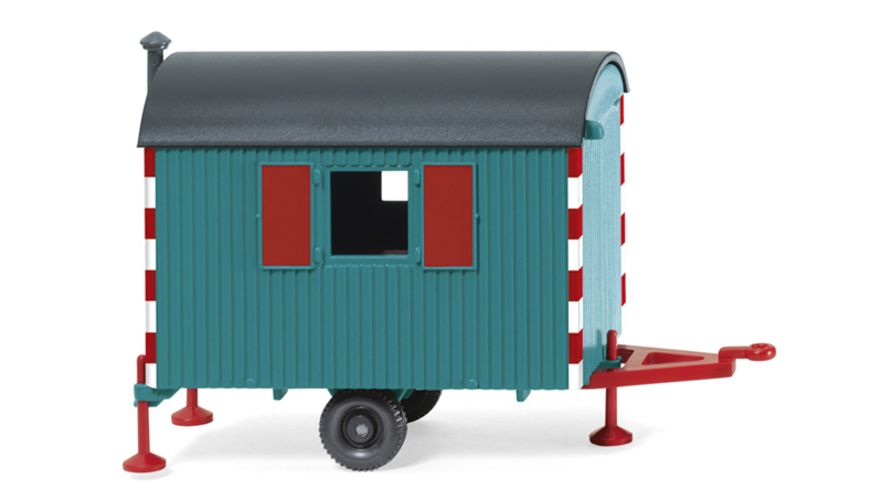 Wiking 0656 07 Bauwagen wasserblau 1 87