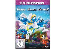 Die Schluempfe 3er Box Die Schluempfe Das verlorene Dorf Die Schluempfe 2 Die Schluempfe 3 DVDs