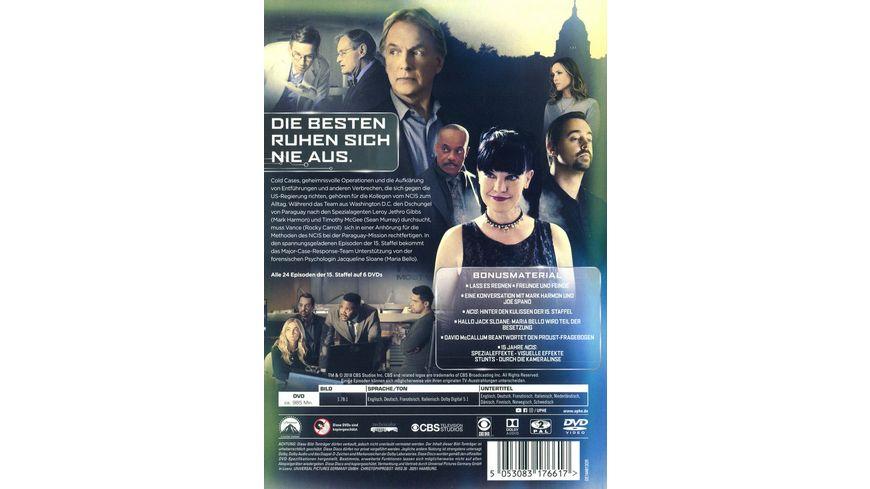 Navy CIS Season 15 6 DVDs