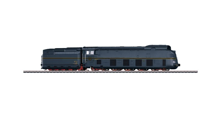 Maerklin 39058 Stromlinien Schnellzugdampflokomotive mit Schlepptender BR 05