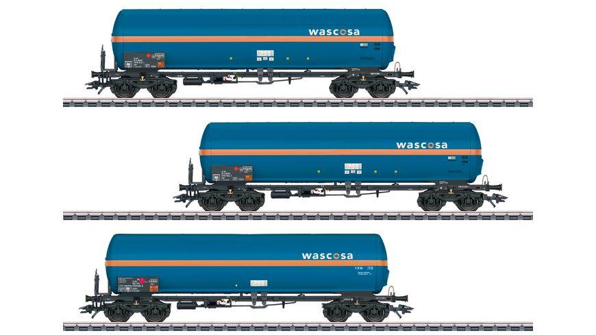 Maerklin 48488 Set mit drei Druckgaskesselwagen Zags und Zagkks