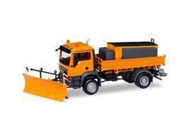 Herpa 308656 MAN TGS M Euro 6c 4x4 Winterdienst kommunal