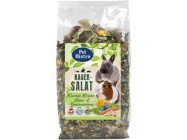 Pet Bistro Nager Salat Kraeuter Blueten Gemuesemischung