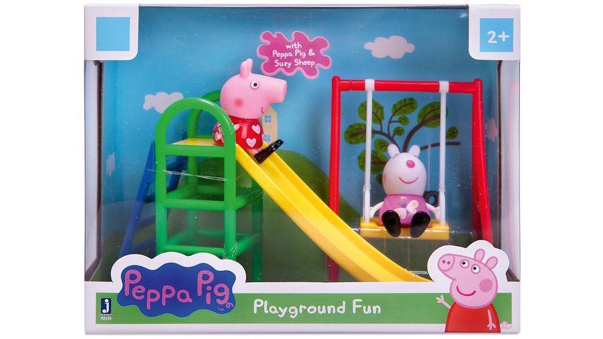 Jazwares Peppa Pig Auf dem Spielplatz