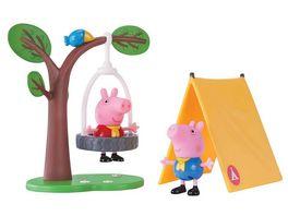 Jazwares Peppa Pig Peppa beim Camping