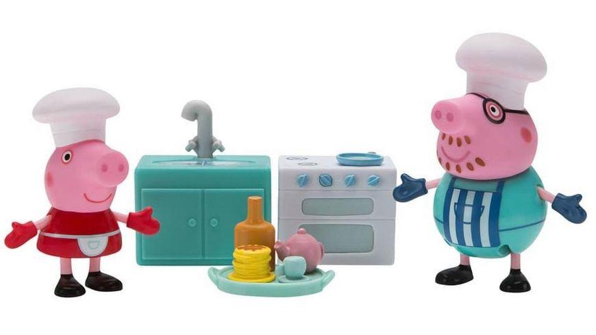 Jazwares Peppa Pig Kochen mit Papa Wutz