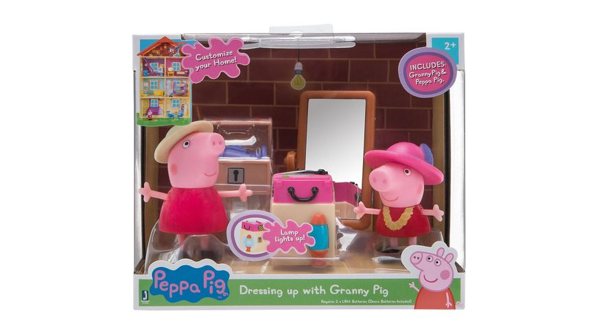 Jazwares Peppa Pig Kostuemparty mit Oma Wutz