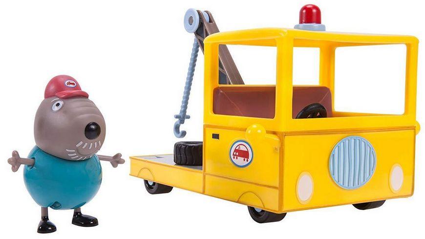 Jazwares Peppa Pig Opa Klaeff s Kleiner Abschleppwagen