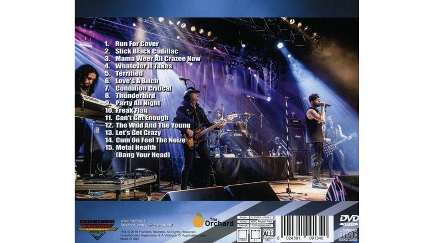 One Night In Milan CD DVD