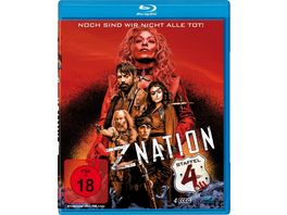 Z Nation Staffel 4 4 Blu rays UNCUT Edition