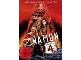 Z Nation Staffel 4 4 DVDs UNCUT Edition