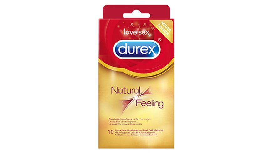 Durex Natural Feeling Kondome 10er Packung