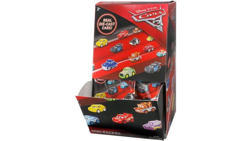Mattel Disney Cars 3 Mini Racers Ueberraschungs Packung 1 Stueck