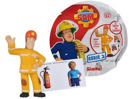 Simba Feuerwehrmann Sam Sammelfiguren Serie 2 Ueberraschungs Packung