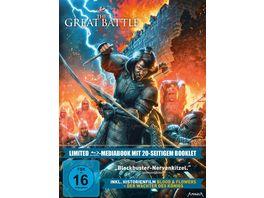 The Great Battle LTD Limitiertes 2 BD Mediabook samt FSK Umleger 2 BRs