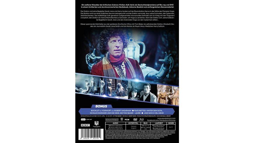 Doctor Who Vierter Doktor Die Rache der Cybermen LTD ltd Mediabook 3 BRs