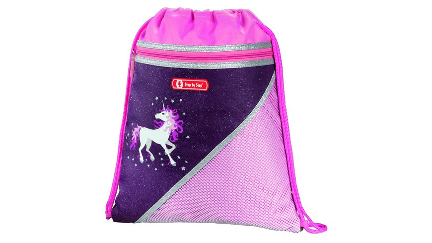 Step by Step Schulranzen Set 5teilig Touch Unicorn