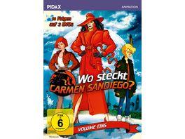 Wo steckt Carmen Sandiego Vol 1 Die ersten 14 Folgen der preisgekroenten Zeichentrickserie zum Mitraten Pidax Animation