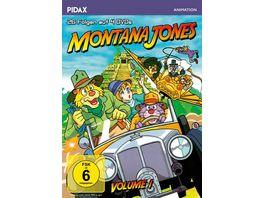 Montana Jones Vol 1 Die ersten 26 Folgen der erfolgreichen Anime Serie Pidax Animation 4 DVDs