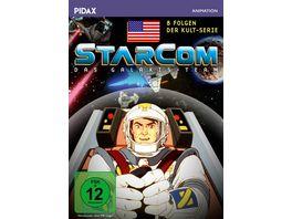 Starcom Das Galaxis Team 8 Folgen der erfolgreichen Science Fiction Zeichentrickserie Pidax Animation