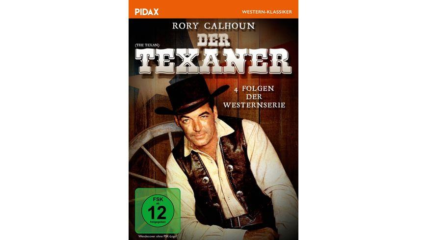 Der Texaner The Texan 4 spannende Folgen der Westernserie mit Rory Calhoun Pidax Western Klassiker