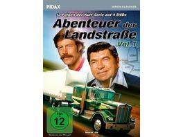 Abenteuer der Landstrasse Vol 1 Movin On 13 Folgen der legendaeren Fernfahrerkult Serie Pidax Serien Klassiker 4 DVDs