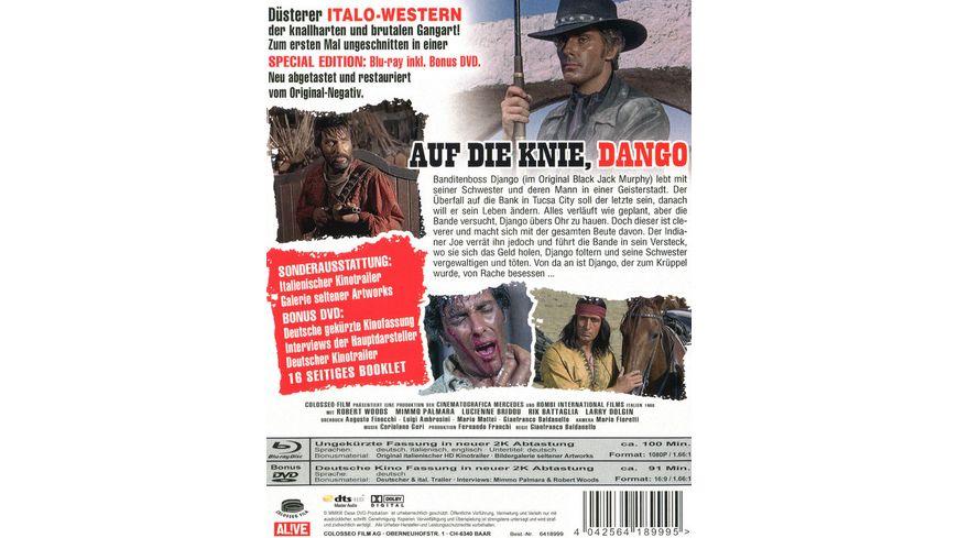 Auf die Knie Django inkl Bonus DVD Schuber