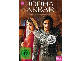 Jodha Akbar Die Prinzessin und der Mogul Box 12 Folge 155 168 3 DVDs