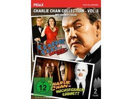 Charlie Chan Collection Vol 3 Charlie Chan auf Kreuzfahrt Charlie Chan im Wachsfigurenkabinett Pidax Film Klassiker