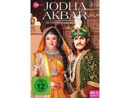 Jodha Akbar Die Prinzessin und der Mogul Box 13 Folge 169 182 3 DVDs