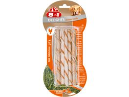 8in1 Delights Twisted Sticks 10 Stueck