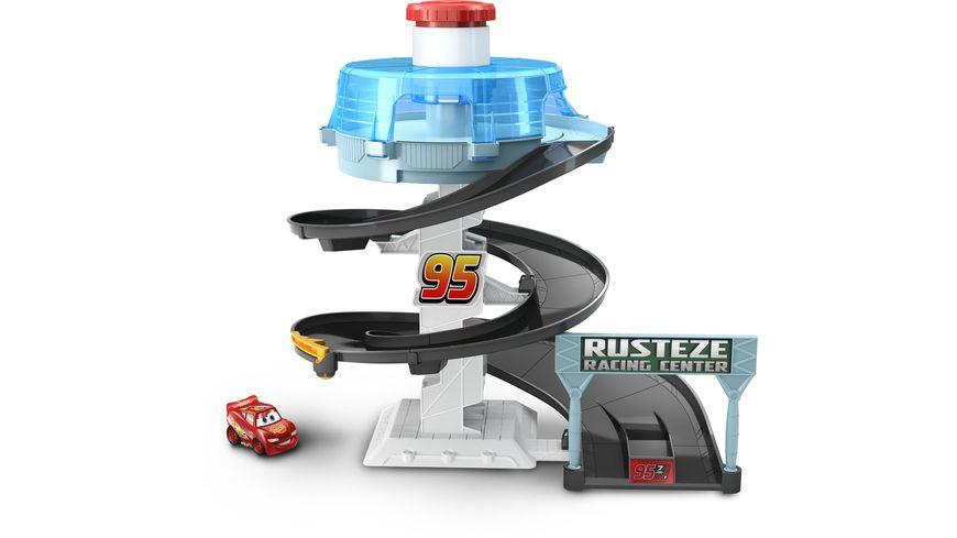 Mattel Disney Cars Rust Eze Dreh Action Rennbahn Spielset